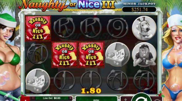 online slot reviews Naughty or Nice III RTG