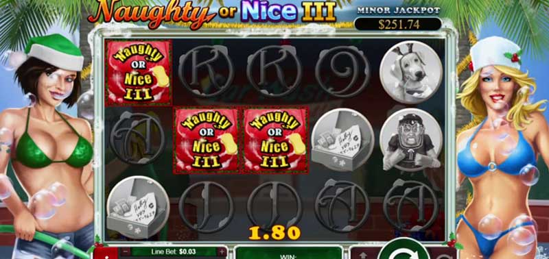 online slot reviews Naughty or Nice III RTG